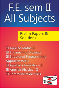 F.E. Sem II All Subjects